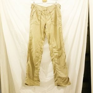 NORTH FACE Khaki Pants w/roll-up legs, size 6